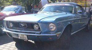 Rajd Fordów Mustangów 2013 - Góra Kalwaria