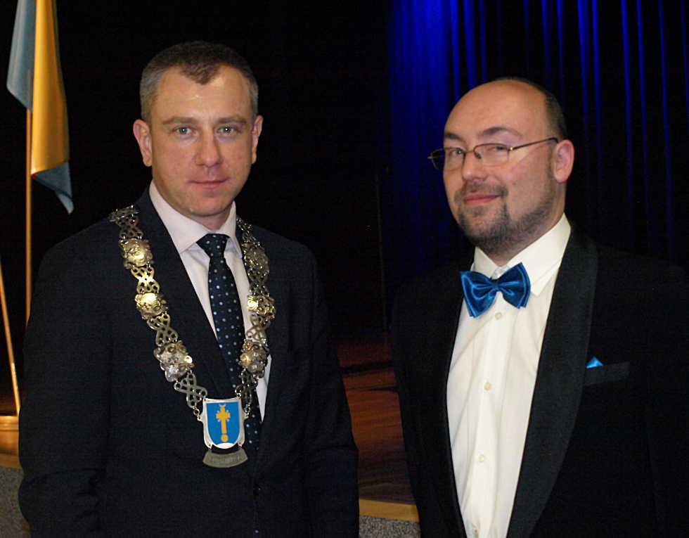 Arkadiusz Strzyżewski i Łukasz Głodek