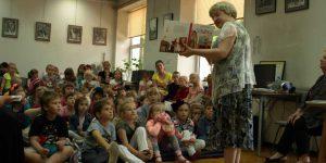 Dorota Gellner na spotkaniu z czytelnikami w Górze Kalwarii