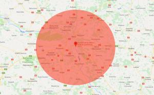 Mapa ograniczeń dla lotów dronami