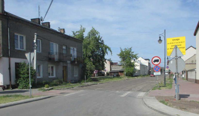 Ulica Wierzbowskiego w Górze Kalwarii