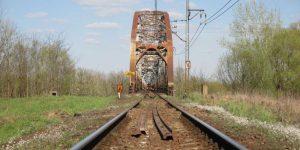 Remont mostu kolejowego w Górze Kalwarii
